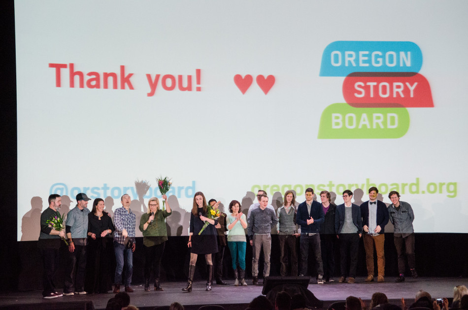 Oregon Story Board Demo Day