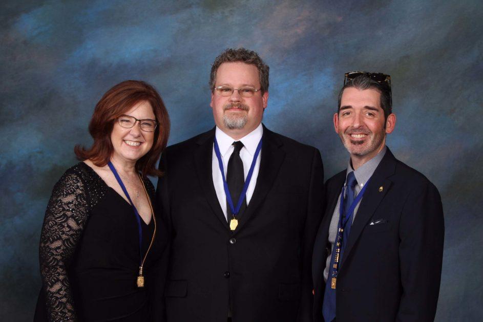 PPA President Lori Craft, Aaron Hockley, and Bryan Welsh