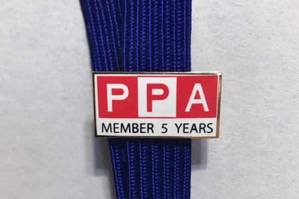 PPA 5 Year Pin